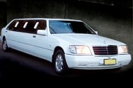 MERCEDES SW140 10 PASSENGER STRETCH LIMO
