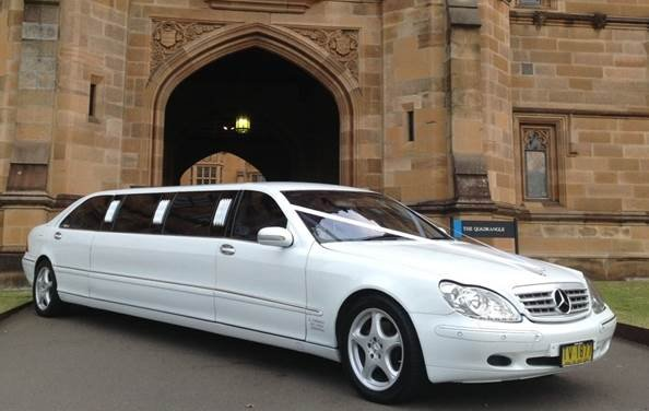 MERCEDES S 220 STRETCH LIMOUSINE 10 SEATER